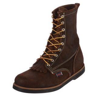 Sebago Mens Cumberland Red/ Brown Boots
