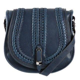 Oryany Reese Leather Saddle Bag