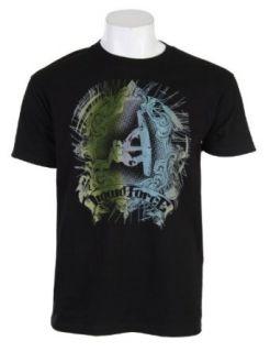 Liquid Force Curley Rail Grab T Shirt Black Mens Sz XL