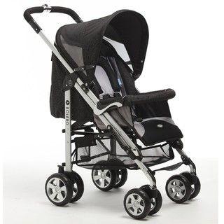 Zooper Bolero Baby Stroller in Star Black