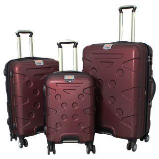 Peninsula 3 piece Lightweight Expandable Hardside Spinner Luggage Set