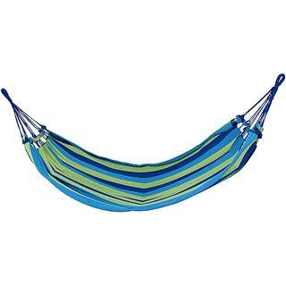 Grand Trunk Blue/ Green Roatan Woven Hammock