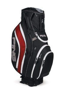 Ping 2012 Pioneer Golf Cart Bag (Black/Inferno) Sports