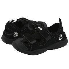 Reef Kids Lil Trekker Boys (Infant/Toddler/Youth) Black Sandals