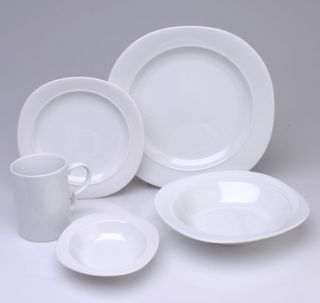 studio nova studio white 20 pc dinnerware set