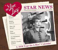 Love Lucy 2010 Calendar (Calendar Paperback)