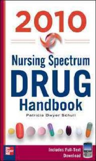 Nursing Spectrum Drug Handbook 2010 (PACKAGE)
