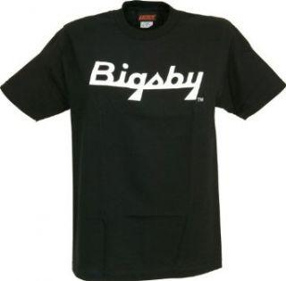 Gretsch Bigsby Logo T Shirt Black Extra Large Clothing