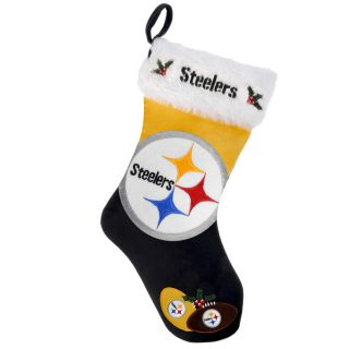 Pittsburgh Steelers 2011 Colorblock Christmas Stocking