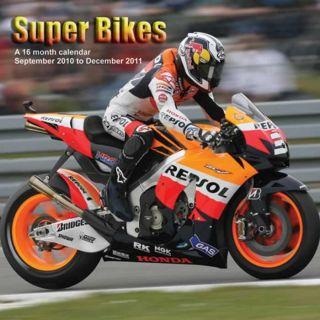 Super Bikes 2011 Wall Calendar