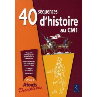 40 sequences dhistoire au CM1   Achat / Vente livre Francois