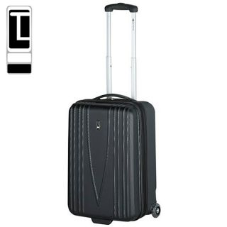 Travel Concepts Versailles Black 22 inch Expandable Hardside Upright