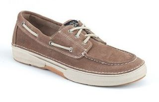 Top Sider Mens Largo 3 Eye Slip on Shoes,Taupe Suede,13 M Shoes