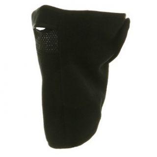 Microfleece Mesh Face mask Black W11S26E Clothing