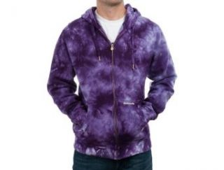 Skullcandy Haze Purple Tie Dye Fleece Hoodie Size S