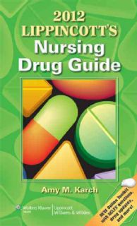2012 Lippincott`s Nursing Drug Guide (Hardcover)