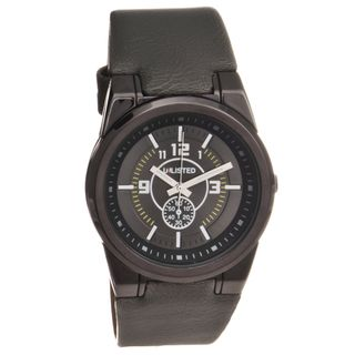 Unlisted by Kenneth Cole Mens Analog Watch