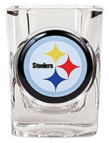 Pittsburgh Steelers Square Shot Glass Feature A Photo