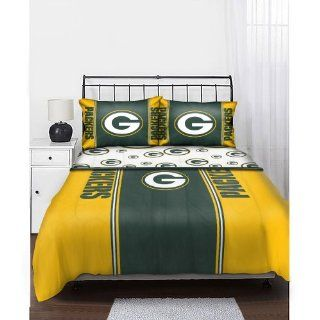 NFL Green Bay Packers Queen Bedding Set Sports & Outdoors