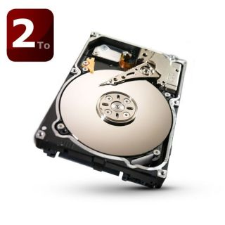 Disque dur interne 2To (2000Go)   7200 trs/min   Interface SATA III 6