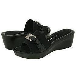 Dezario Trip Black Sandals (Size 11)