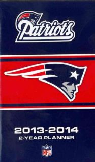 New England Patriots NFL 2013 14 2 Year Planner (Calendar)