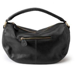 Eddie Bauer Leather Hobo Bag, Black ONESZE Clothing