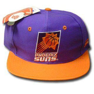 NBA PHOENIX SUNS OLD SCHOOL VINTAGE PURPLE LOGO CAP HAT