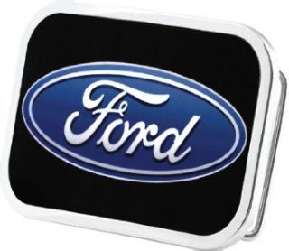 Licensed Black Ford Belt Buckle Clothing