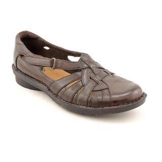 Clarks Womens Nikki Common Leather Casual Shoes   Narrow