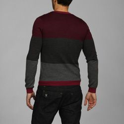 Antony Morato Mens Slim Fit V neck Wool Blend Sweater