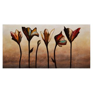 Stephanie Fontaine Elegance Hand painted Canvas Art