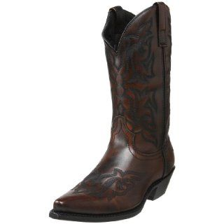 Laredo Mens Hawk Western Boot Shoes