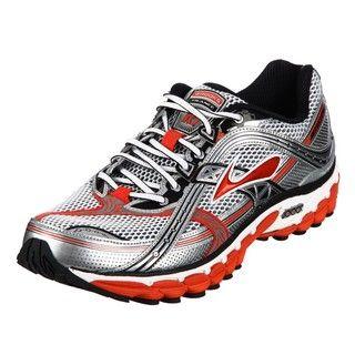 Brooks Mens Trance 10 Orange Athletic Shoes