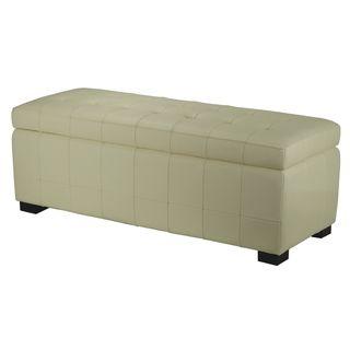 Manhattan Large Off white Storage Bench