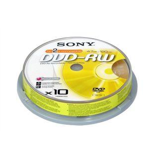Sony DVD RW 1 2x   Achat / Vente CD   DVD   BLU RAY VIERGE Sony DVD
