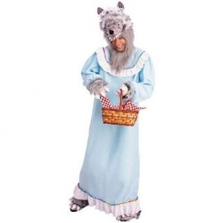 Granny Wolf Adult Costume Clothing