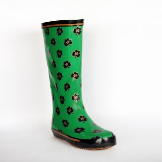 Notre Dame Fighting Irish Womens Shamrock Rain Boots