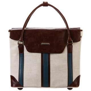 Isabella Fiore South Hampton Wheeled Laptop Tote Bag