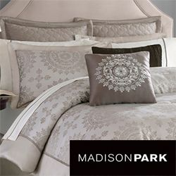 Madison Park Sausalito 12 piece Bed in a Bag with Sheet Set