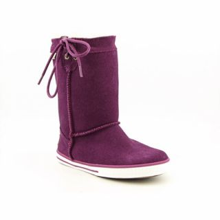 Bearpaw Manhattan Girls Purple Winter Boots (Size 13)