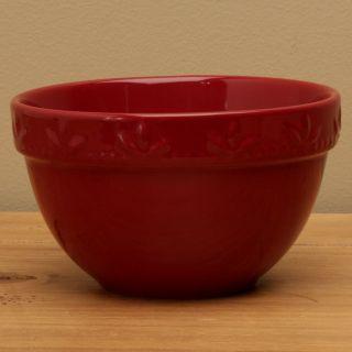 Signature Housewares Sorrento Ruby Red 30 oz Utility Bowls (Set of 6