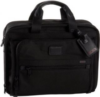 Tumi Alpha T Pass At A Glance Organizer Briefcase,Black