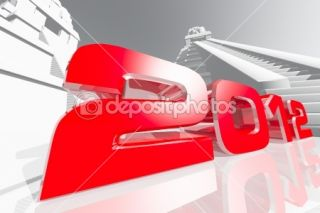 2012 Maya Prediction Concept 3D render  Foto stock © boscorelli