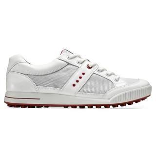 Ecco Mens White Street Premier Golf Shoes