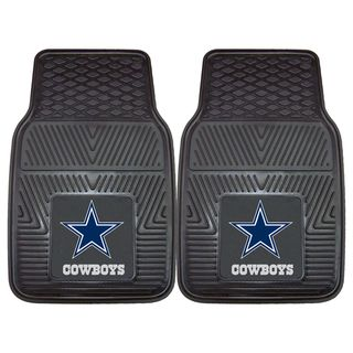 Fanmats Dallas Cowboys 2 piece Vinyl Car Mats