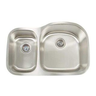 Artisan Premium Series Undermount Shallow/ Deep Double Bowl Kitchen