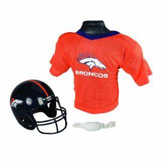 NFL Denver Broncos Replica Youth Helmet and Jersey Set