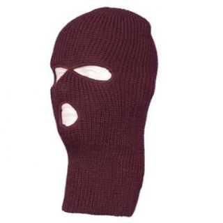 Brown Warm Winter Ski and Face Mask Clothing