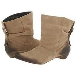 Steve Madden Punkie Taupe Suede Boots
